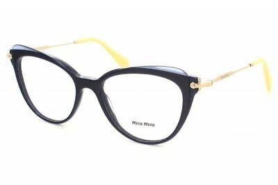 Miu Miu Women Eyeglasses MU01QV VYA1O1 50MM Rx Blue Optical Frame (Miu Miu Optical Frames)