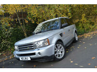 2007 Land Rover Range Rover Sport 2.7TD V6 HSE+FULL DEALER HISTORY+TIMING DONE+