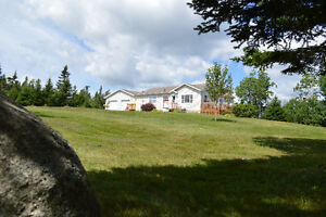 OWLS HEAD - 3 BED, 2+ ACRE DREAM PROPERTY WITH OCEANVIEW