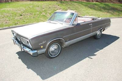1966 Plymouth Other SIGNET 1966 Plymouth Valiant SIGNET 103000 Miles Gray Convertible V8 2.7L Automatic