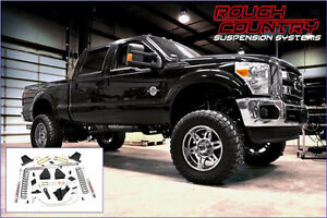 "Rough Country 6"" Suspension Ford F250 SD Diesel 2011-14"
