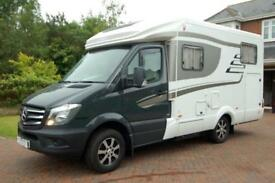 Hymer ML T 540 luxury 3 berth low profile Mercedes motorhome with garage