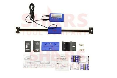 Shars 24 Digital Dro Large Lcd Readout Scale Ip54 For Bridgeport Mill Lathe New