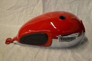 2014 Triumph Scrambler Stock Gas Tank, Fenders, Side Covers