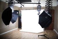Fully equipped photography/videography studio for hourly rent