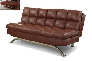 Canapu00E9 Lit Cuir / Sofa Bed / PU - CADEAUXVILLA.COM