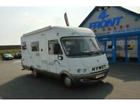 1999 HYMER B524 MOTORHOME CAMPERVAN LHD FIAT DUCATO 2.8 DIESEL 3 BERTH 3 TRAVELL