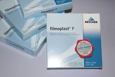 filmoplast P von NESCHEN  2 cm x 50 m im Spender Klebeband säurefrei transparent
