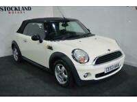 2010 MINI Convertible 1.6 One 2dr CONVERTIBLE Petrol Manual