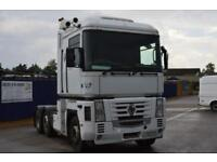 Renault Magnum 6x2 tractor unit, Manual Gearbox