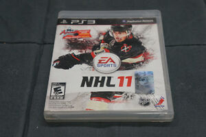 NHL 11 PS3 Game Case With Playstation Move Demo Disk