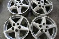 """4 - 16"""" Pontiac alloy rims 5x115 bolt pattern"""