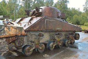 Sherman tank for restoration project