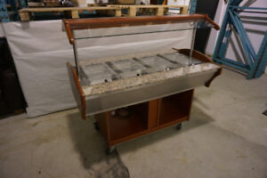 ITS SB-HOT Model: SB-H155 Warmer Cart / Buffet Table / Salad Bar