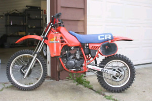 Looking For 1983 Cr80 parts or parts bike.