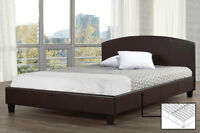 MEGA PRIX!! Lit en Cuir / Leather Bed - CADEAUX VILLA
