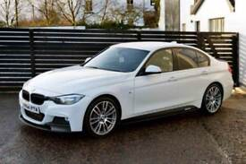 2014 BMW 3 SERIES 320D M SPORT AUTO ALPINE WHITE 19S