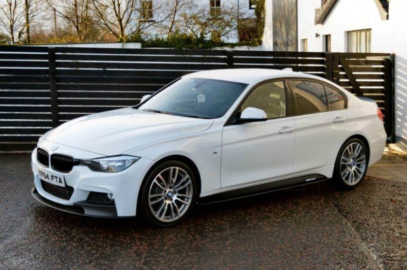 2014 bmw 3 series 320d m sport auto alpine white 19s in ballymoney county antrim gumtree. Black Bedroom Furniture Sets. Home Design Ideas