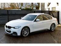 2014 BMW 3 SERIES 320D M SPORT AUTO ALPINE WHITE 19S