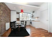 GLORIOUS TWO BEDROOM WAREHOUSE STYLE APARTMENT WITH COURTYARD GARDEN MOMENTS TO HACKNEY CENTRAL