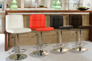Brand new gas lift bar stool is on sale $98+FREE DELIVERY+SETUP!