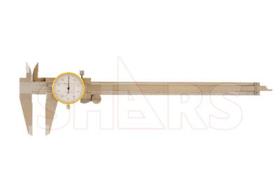 """SHARS 0- 8 x 0.1"""" 4 WAY DIAL CALIPER STAINLESS STEEL  SHOCK PROOF NEW for sale  Saint Charles"""
