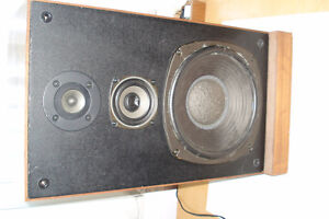 Stereo Speakers, Made in Japan, floor model,  $20.00 ea.