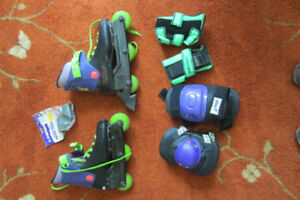 In-line skates /RollerBlades - Women 6/6.5 PLUS gear