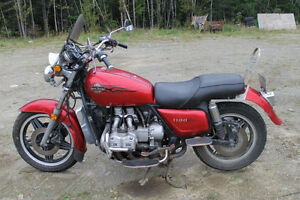 REDUCED 1981 honda goldwing for sale.