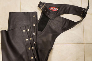 Women's Black Leather Chaps - Size Small - Never Worn