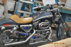 HARLEY DAVIDSON 2003 XL 883 CUSTOM 100th anniversary