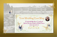 NS Justice of the Peace Your Wedding-Your Way