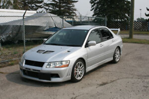 Jdm 2001 Mitsubishi Lancer Evolution-7 GSR (Turbo 5-Speed)