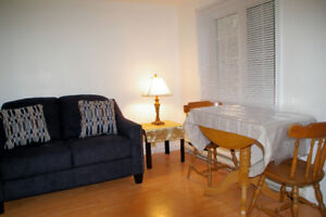● One BR apt ● Utilities included ● $800 ● October ●