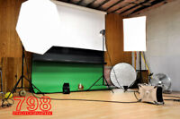 20/Hr. / $30/Hr. Photography Studio rental, photo studio rent