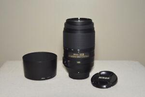 Nikkor 55-300 mm VR, 50mm 1.8G and 18-55 VR