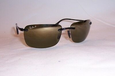 93214b8ff3 New RAY BAN Sunglasses 4255 621 6O GRAY GOLD MIRROR POLARIZED 60mm AUTHENTIC