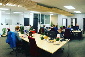 Bureau dans chez Coworking Rive-Sud