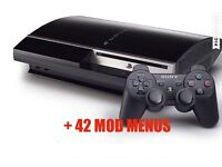PS3 With 42 Mod Menus