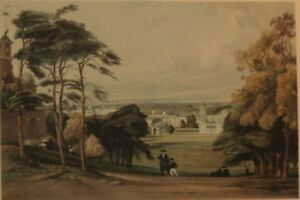 London from Greenwich Colored Reprint Thomas Shotter Boys