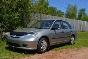 2005 Honda Civic Sedan  Inspected !