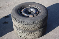 2-215/70R15 Nitro SN2 Winter tires with over 95% tread remaining