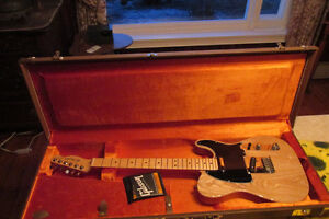 Fender Telecaster USA 2009, with G&G case, $1475.