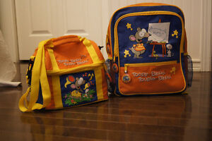 Toopy and Binoo Lunchbox and Backpack