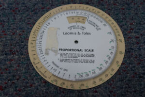 Loomis & Toles Proportional Wheel And Resolution Calculator