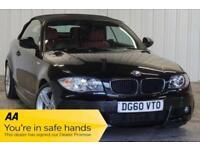 2010 60 BMW 1 SERIES 2.0 118D M SPORT 2D 141 BHP DIESEL
