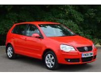 2008 VOLKSWAGEN POLO 1.4 Match 80 5dr Auto INCREDIBLY LOW MILEAGE