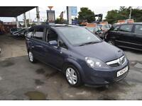 Vauxhall/Opel Zafira 1.9CDTi ( 120ps ) auto 2010MY Exclusiv 5 DOORS 7 SEATER