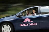 MOLLY MAID - Use of MOLLY car 24/7!! $14-18 per hour