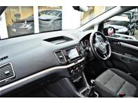 2017 Volkswagen Sharan S 2.0 TDI BMT SCR 150PS 6-speed Manual 5 Door Diesel blac